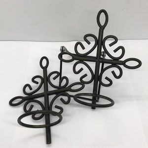Iron Wall Hanging Candle Holders